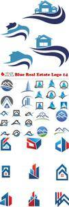 Vectors - Blue Real Estate Logo 14