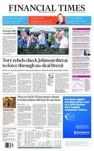 Financial Times UK – July 19, 2019