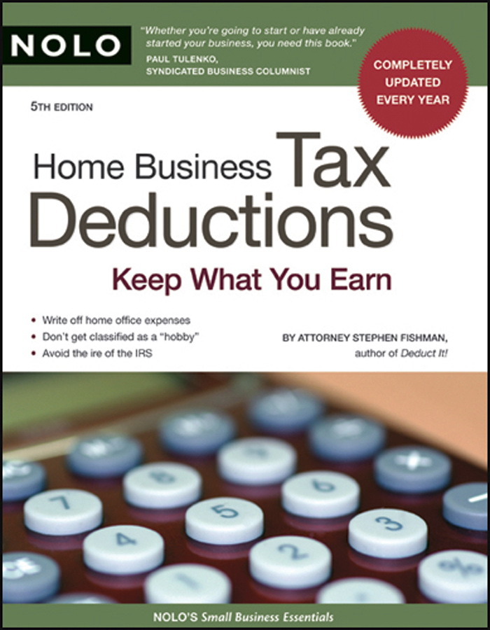 """""""Home Business Tax Deductions: Keep What You Earn"""" (Repost)"""