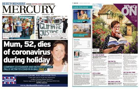 Hertfordshire Mercury – March 19, 2020