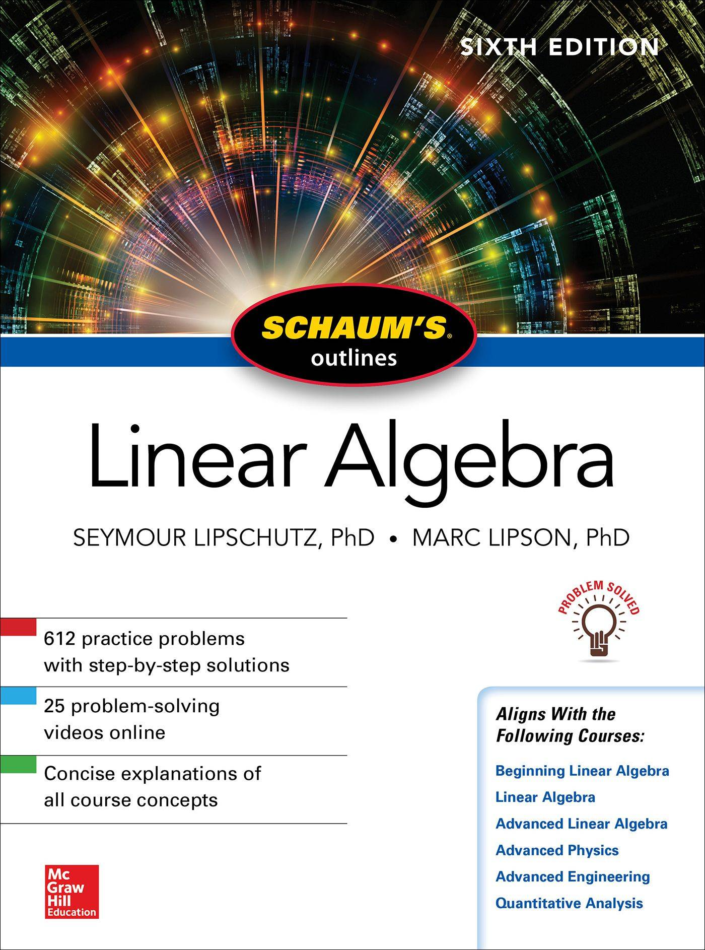 Schaum's Outline of Linear Algebra, 6th Edition / AvaxHome