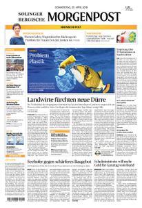 Solinger Morgenpost – 25. April 2019