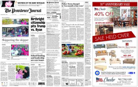 The Providence Journal – November 01, 2018