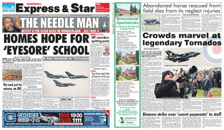Express and Star Sandwell Edition – February 20, 2019