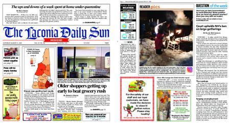 The Laconia Daily Sun – March 21, 2020