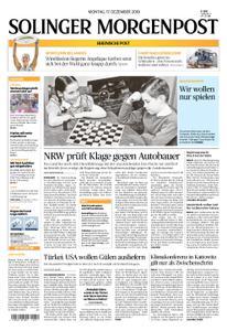 Solinger Morgenpost – 17. Dezember 2018