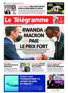 Le Télégramme Ouest Cornouaille – 26 mai 2021