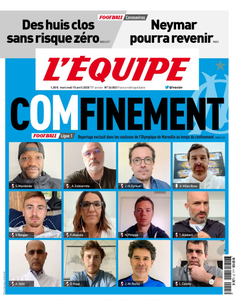 L'equipe du Mercredi 15 Avril 2020