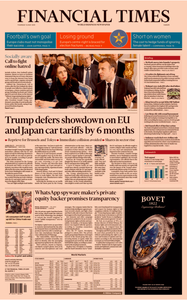 Financial Times Europe – 16 May 2019