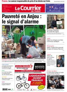 Le Courrier de l'Ouest Angers – 13 novembre 2019