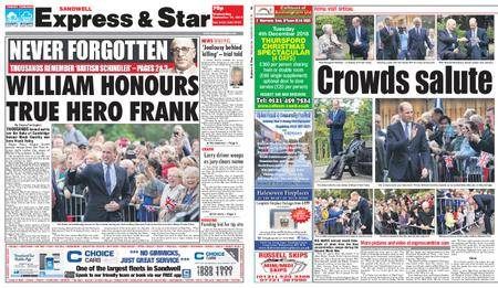 Express and Star Sandwell Edition – September 19, 2018