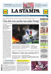 La Stampa Torino Provincia e Canavese - 25 Novembre 2018