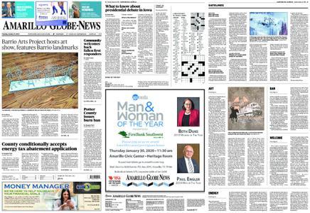 Amarillo Globe News – January 14, 2020