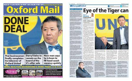 Oxford Mail – February 23, 2018
