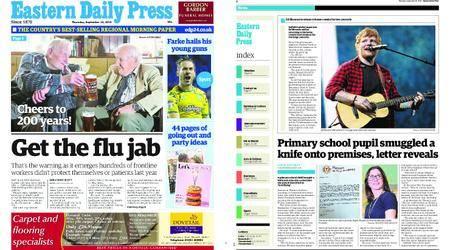 Eastern Daily Press – September 20, 2018