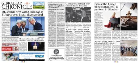 Gibraltar Chronicle – 26 November 2018