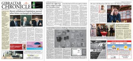 Gibraltar Chronicle – 01 February 2019