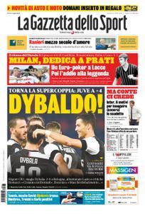 La Gazzetta dello Sport Roma – 23 giugno 2020