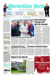 Oberhessische Presse Marburg/Ostkreis - 27. November 2018