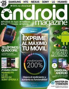 Android Magazine Spain - Issue 47 2016