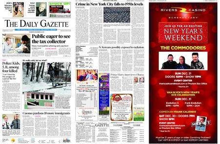 The Daily Gazette – December 28, 2017