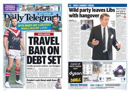 The Daily Telegraph (Sydney) – September 22, 2018