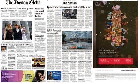 The Boston Globe – August 28, 2019