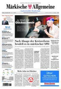 Märkische Allgemeine Luckenwalder Rundschau - 03. November 2017