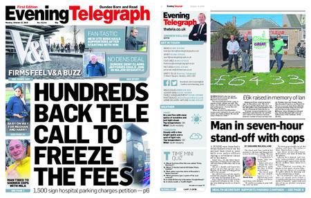Evening Telegraph First Edition – October 15, 2018