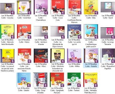 Les 30 Recettes Culte - Collection eBooks