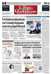 Il Fatto Quotidiano - 3 Novembre 2017