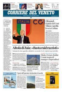 Corriere del Veneto Vicenza e Bassano - 31 Luglio 2018