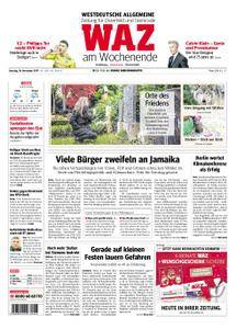 WAZ Westdeutsche Allgemeine Zeitung Oberhausen-Sterkrade - 18. November 2017