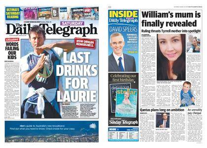 The Daily Telegraph (Sydney) – August 26, 2017