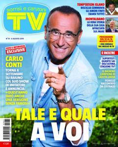 TV Sorrisi e Canzoni - 06 agosto 2019