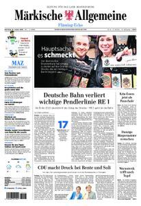 Märkische Allgemeine Fläming Echo - 15. Januar 2019