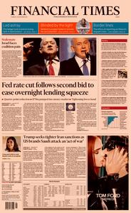 Financial Times Europe – 19 September 2019