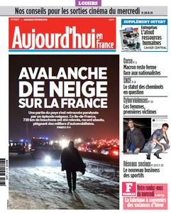 Aujourd'hui en France du Mercredi 7 Février 2018