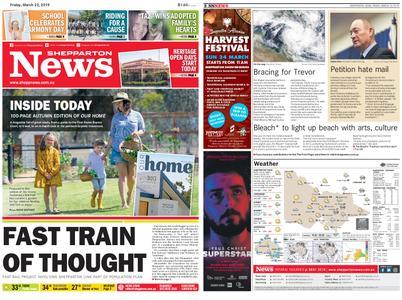 Shepparton News – March 22, 2019