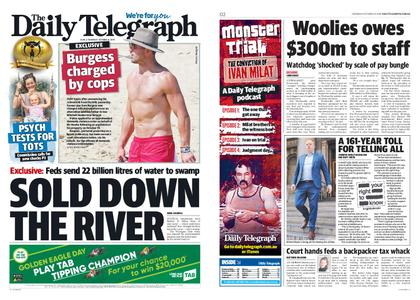The Daily Telegraph (Sydney) – October 31, 2019