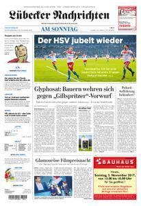 Lübecker Nachrichten Ostholstein Süd - 05. November 2017
