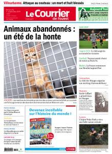 Le Courrier de l'Ouest Cholet – 01 septembre 2019
