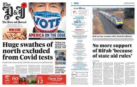 The Press and Journal Moray – November 04, 2020