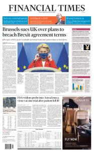 Financial Times Europe - October 2, 2020