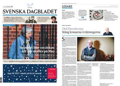 Svenska Dagbladet – 23 mars 2019