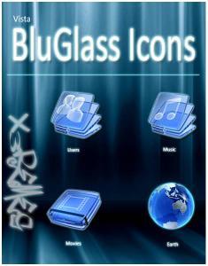 Windows Vista™ BluGlass Icons