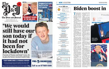 The Press and Journal Moray – November 05, 2020