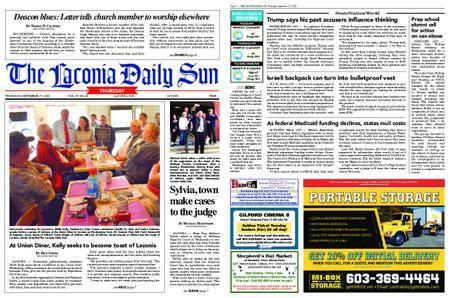 The Laconia Daily Sun – September 27, 2018