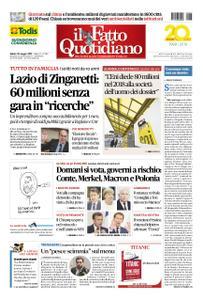 Il Fatto Quotidiano - 25 maggio 2019