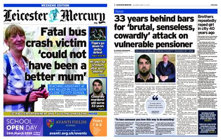 Leicester Mercury – March 23, 2019